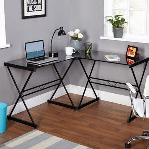 Corner Computer Desk L Shaped Furniture Home Office