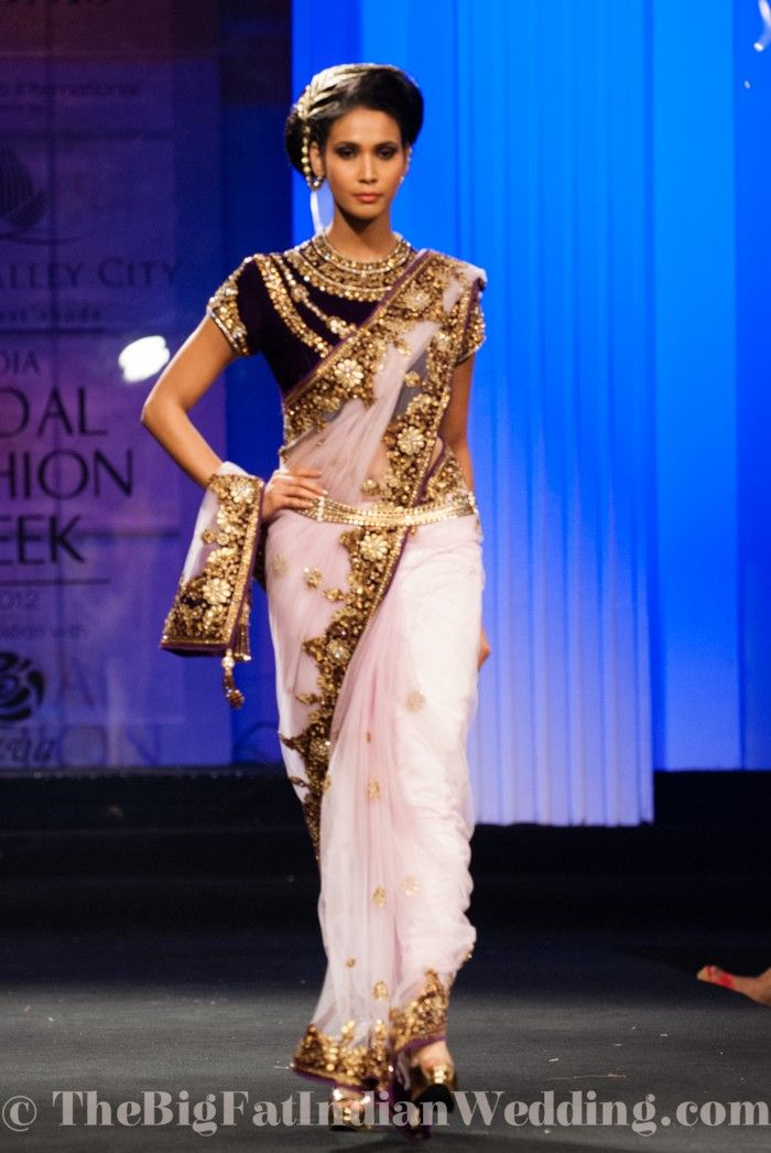 Vikram Phadnis Stunning Wedding Collection At Aamby Valley India Bridal Week 2012 Big Fat