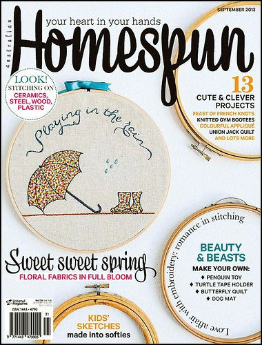 Homespun cover | Flickr - Photo Sharing!