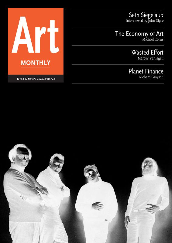 Art Monthly : Issue : 327 June 2009