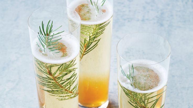 Juniper Champagne Cocktail #HappyHour