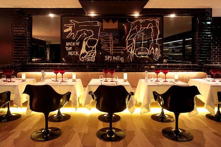 paris: la gioia restaurant opening: Restaurant Design, Bench, Eateries Restaurants, Commercial Hospitality Design