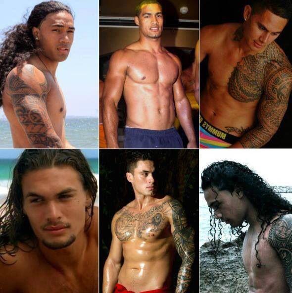 South Pacific Island Men  Polynesian Men-6063