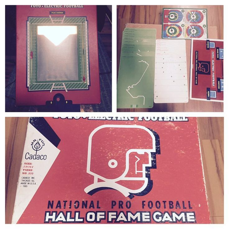Football, Fantasy Football, vintage, retro Hall of Fame Game 1965 by 406HLvintageupcycle on Etsy