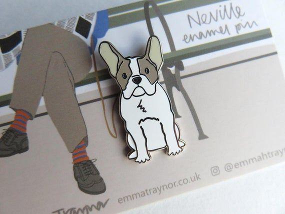 French Bulldog Quality enamel lapel pin badge FREE POSTAGE
