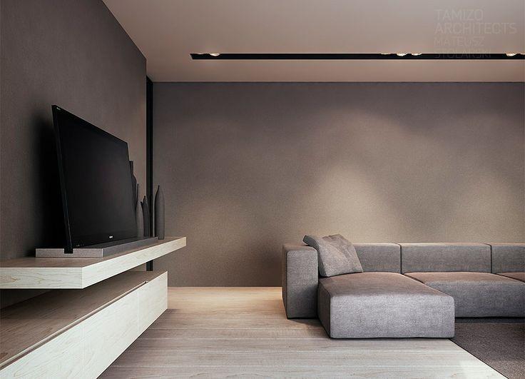 25 beste idee n over moderne woonkamers op pinterest moderne inrichting witte hoekbank en for Moderne woonkamer