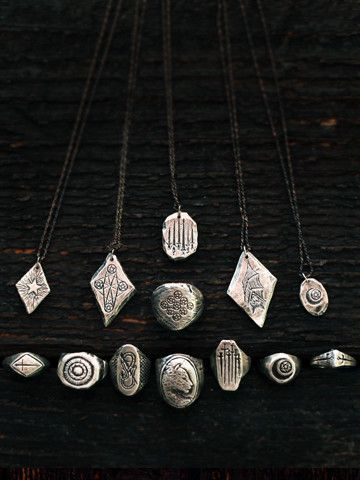 Pendant collection by The Wild Unknown