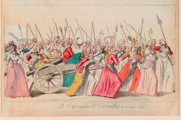 the women marching on veersailles   Pisando Charcos » La Revolución francesa en imágenes