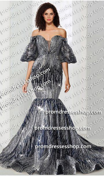 da50bff816897 dramatic off the shoulder bell sleeves sequin mermaid dress,2019 prom  dreses Ball gown formal Evening pegeant dress,bridesmaid dress