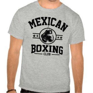 Club mexicano del boxeo tee shirt