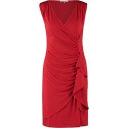 Anna Field Sukienka z dżerseju red