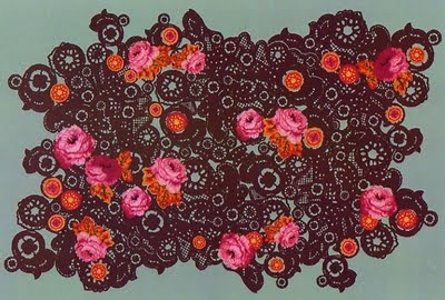 Tapis kenzo c crochet pinterest textiles and design - Tapis florence bourel ...