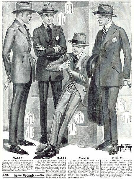 ann es 1930 mode masculine vintage illustration de mode mode des ann es 1960