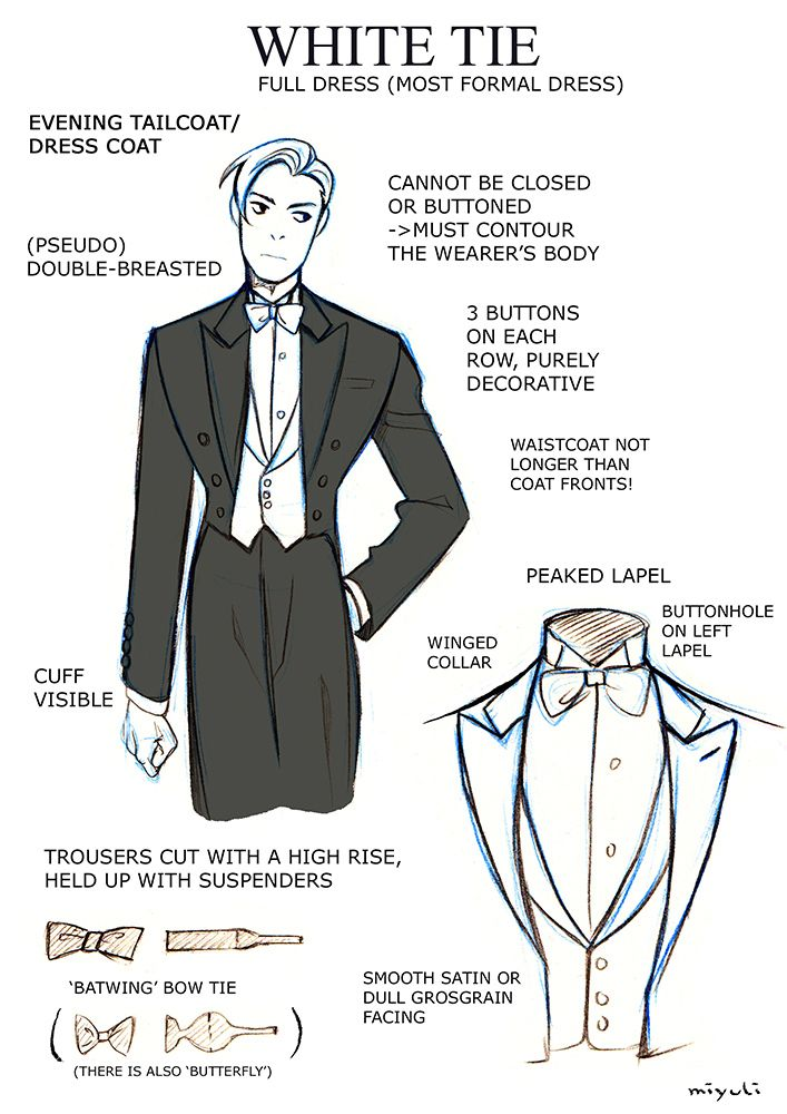 It is a photo of Eloquent Suit Drawing Reference