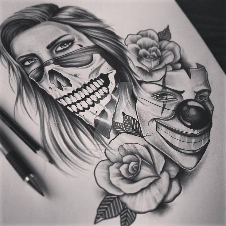 Skull Face  Mask by EdwardMiller
