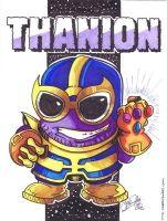 Thanos is no man's minion Comic Art