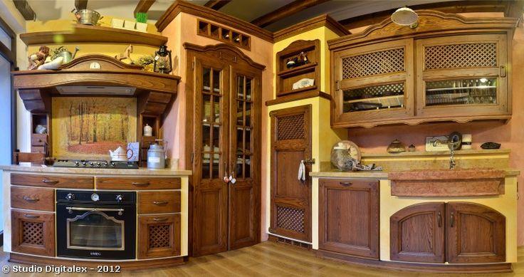 17 migliori idee su cucine in stile country su pinterest for Migliori piani di casa