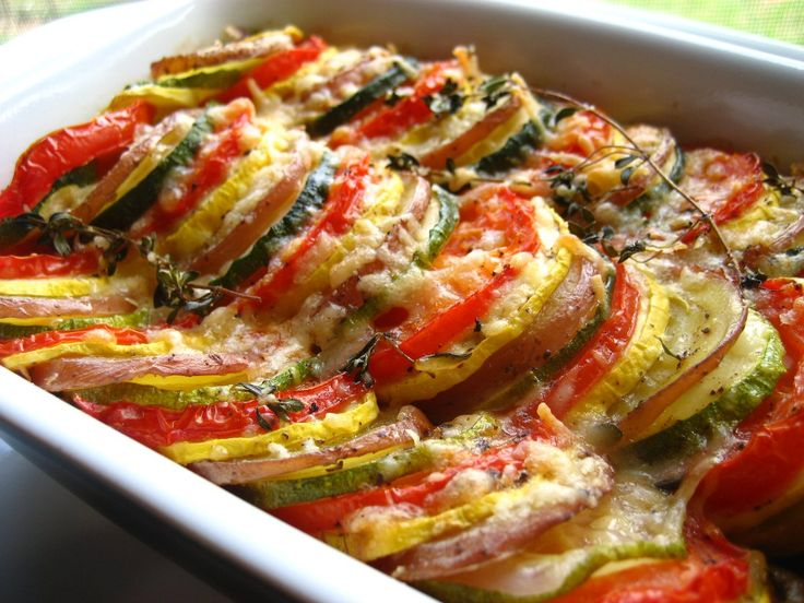 Vegetable Tian ( Ina Garten )