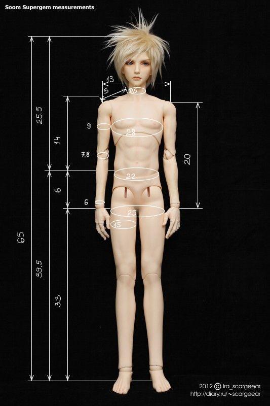Soom Supergem 65 male body measurements by scargeear.deviantart.com on @DeviantArt