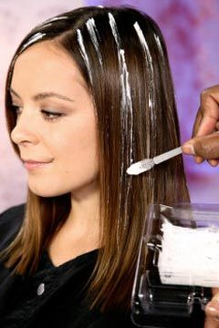 how to apply hair highlights at home