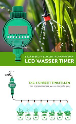 Perfect DIY Automatisches Bew sserungssystem mit Wasser Timer Bidroop Auction Highest bid uac Condition