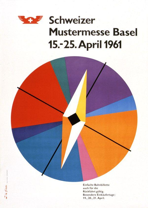Fritz Buehler, Schweizer Mustermesse Basel, 1961