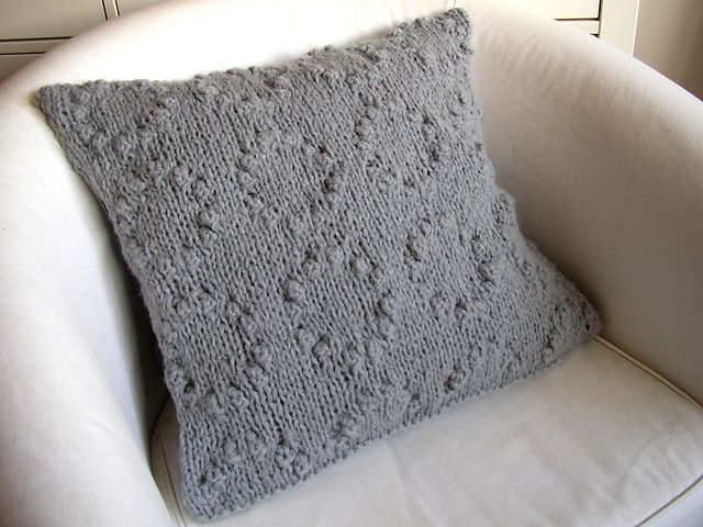 Awesome Knitting Cushion Covers Free Pattern Embellishment Easy