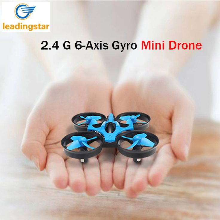 H36 Mini Drone RC Quadcopter 2.4G 6-Axis Gyro 4 Saluran LED headless modus satu kunci kembali rc dron helikopter drone jjrc saku