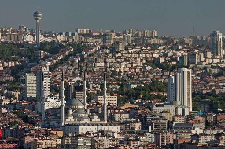 Ancara -  capital da Turquia