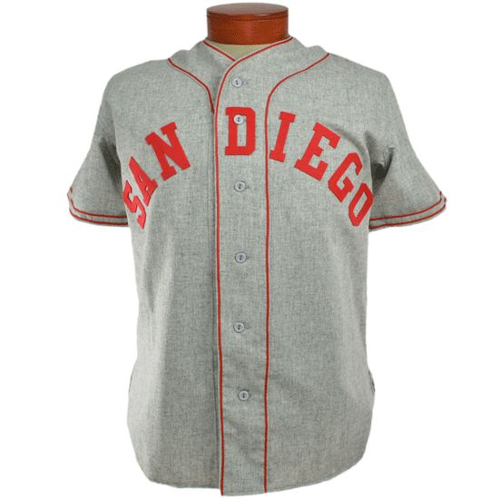 San Diego Padres (PCL) 1946 Road Jersey in 2019  16d72d897
