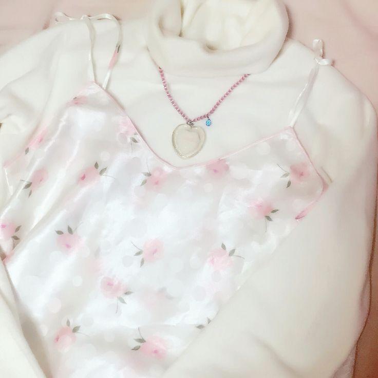 #pink#vintage#rose#lingerie