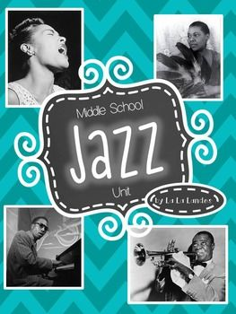 "Jazz up your middle school music curriculum with this 26 page bundle of Jazz music worksheets, activities, assessments, and a unit test!  This unit is meant to accompany the film ""The Story of Jazz"" directed Matthew Seig which can be found on YouTube."