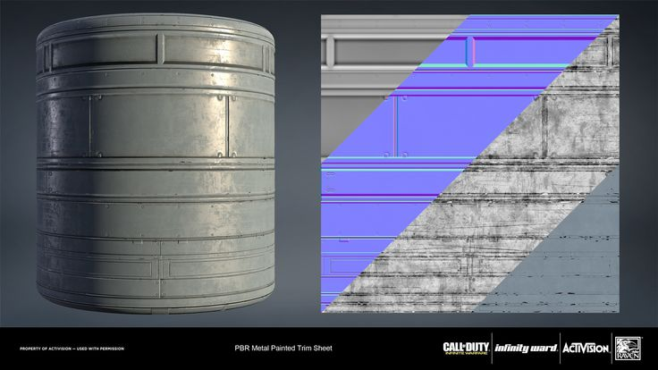 ArtStation - Call of Duty: Infinite Warfare Material Renders, Joshua Lynch