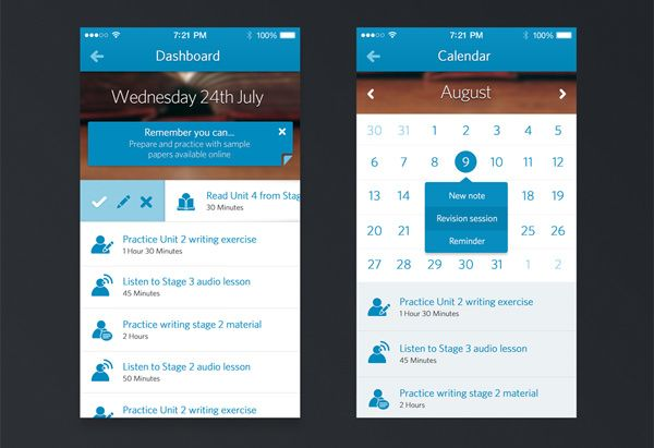 20 Eye-Catching Mobile Calendar Designs For Your Inspiration