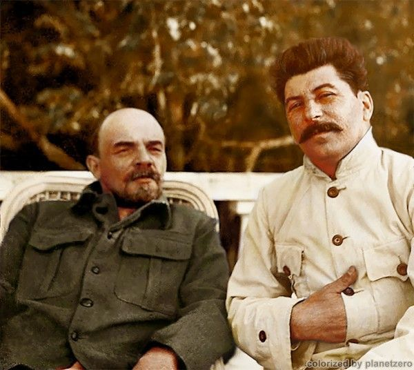 Lenin and Stalin, 1922