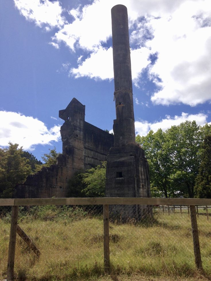 ... Stopping off at the old cement works @ Warkworth on the way up to Matakana