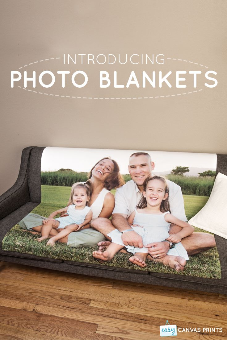 Cozy up with Custom Photo Blankets! Fleece, Velveteen, and Woven Styles Available.