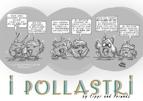 I Pollastri Striscia a fumetti, il lato cinico di pollitalia