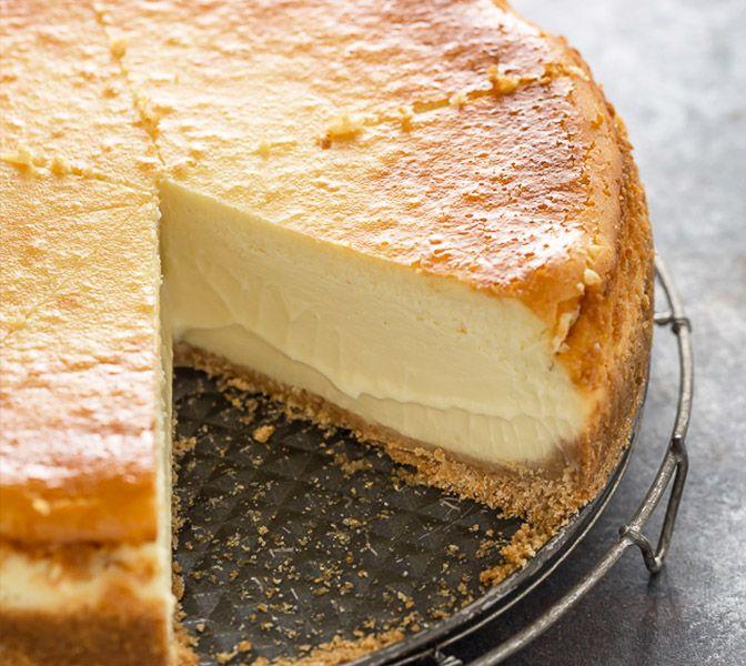 Käsekuchen mit Boden, der perfekte Snack! (ohne