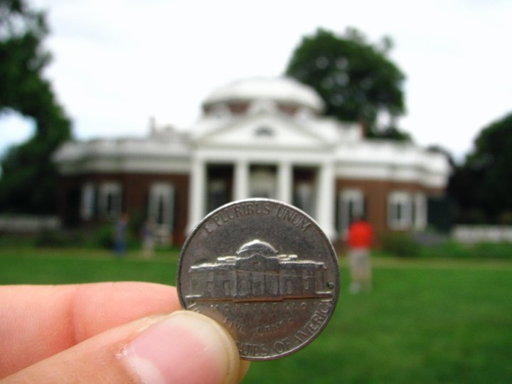 Thomas Jefferson's Monticello, Virginia
