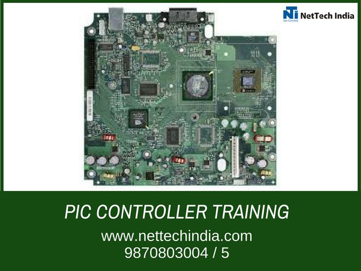 Net Tech India With PIC Controller NetTech India offers #piccontroller. We will guide you in right direction through best #piccontroller Program under our expert's guidance PIC microcontroller certification Embedded System Training Institute 100% Job Guaranty For more details call us 9870803004/5 or visit http://www.nettechindia.com
