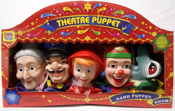 Poppenkastpoppen, Hand Puppets, Kasperle Puppen Set: Amazon.de: Spielzeug