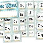 Pretty word wall labels perfect for the beach or ocean theme. :)Title includes word wall header and alphabet labels.Please be sure to check...