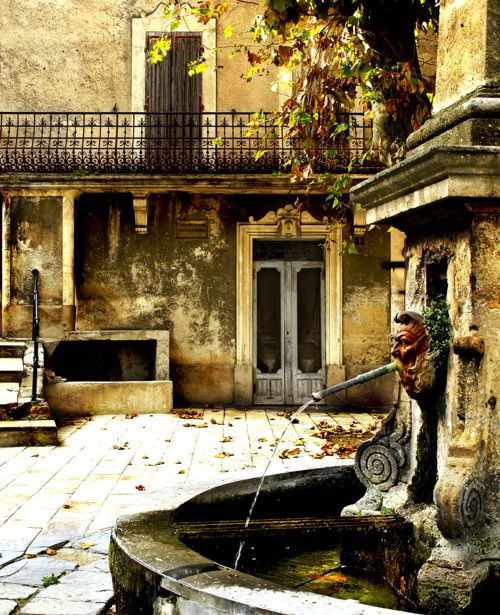 Soy agua de fuentes........A Bygone Era  Images of Provence, Rognes, France  by Sandrine Burke