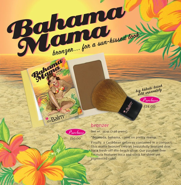 Bahama Mama bronzer - the Balm...used as contour