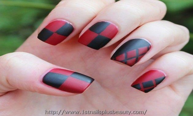 harley quinn nail art Picture