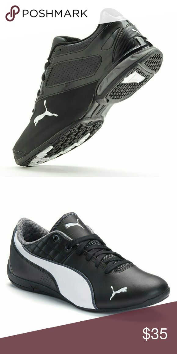 Puma tazon 6 sl jr boys running shoes new The nice thing for small men is you can wear boys shoes. Same great look for way less than mens shoes. Boys size 7 will fits mens size 7. Puma Shoes Sneakers