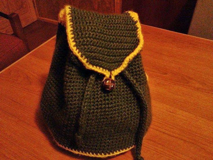 Lanas Oveja Negra: Bolso tejido a crochet