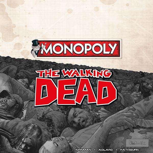 Monopoly The Walking Dead - Während die Serie mit einer Zombie-Apokalypse in Atlanta startet, beginnt Ihr Abenteuer auf LOS. Felder sind Orte des Geschehens aus der Comic-Serie, die aber auch Liebhaber der TV-Serie sofort wiedererkennen. Und weil es bei diesem Spiel ums Überleben geht, dreht sich auch alles um Vorräte, Beute und den Schutz vor Angriffen.