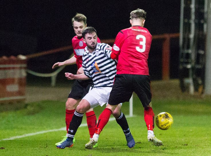 Queen's Park's Anton Brady in action during the Ladbrokes League One game between Brechin City and Queen's Park.